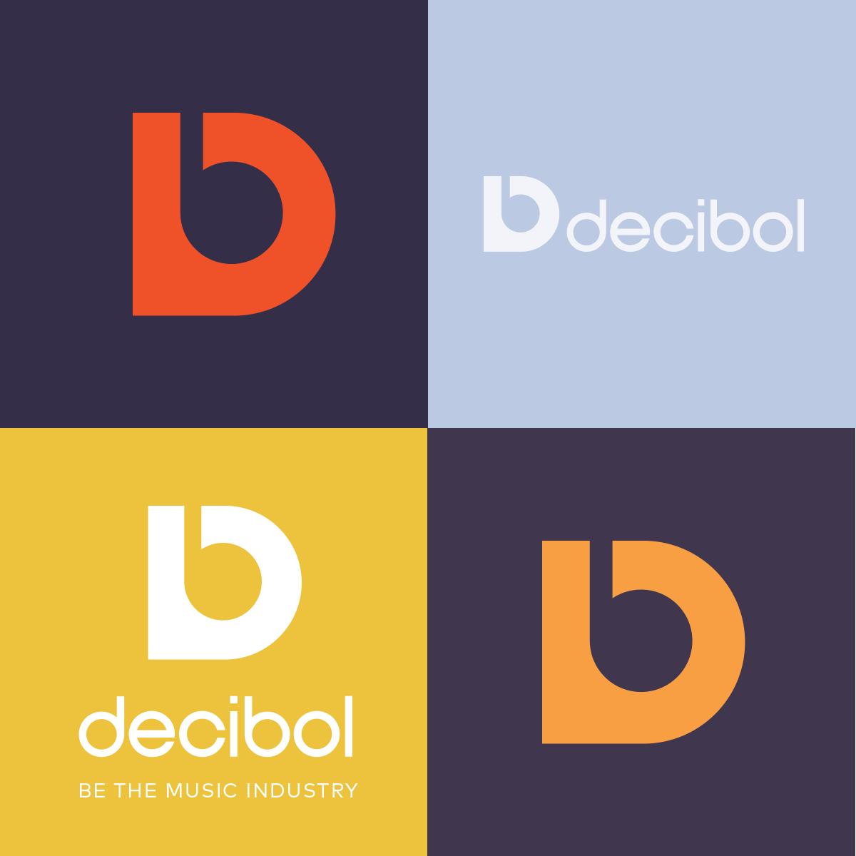 Decibol Logo variations