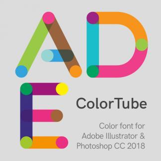 ColorTube Font
